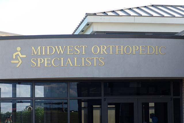 Midwest Orthopedic Specialists Cast Letters