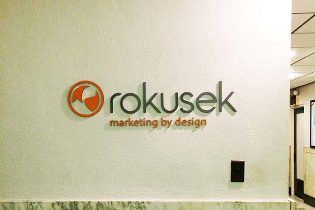 Rokusek Routed Wall Graphics